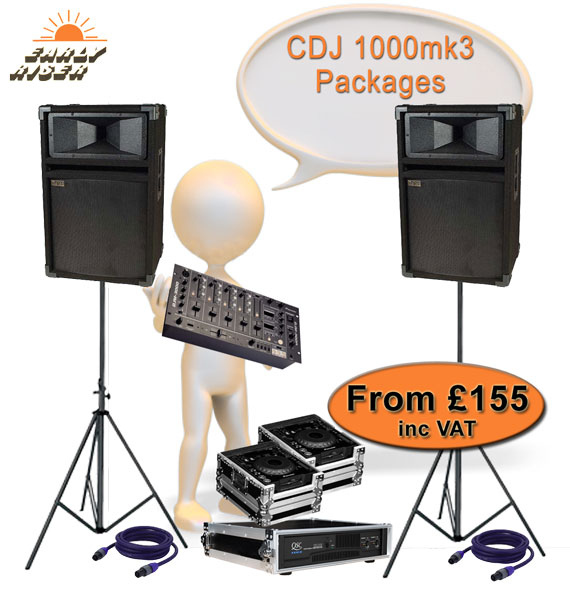 Pioneer CDJ1000mk3 For Hire