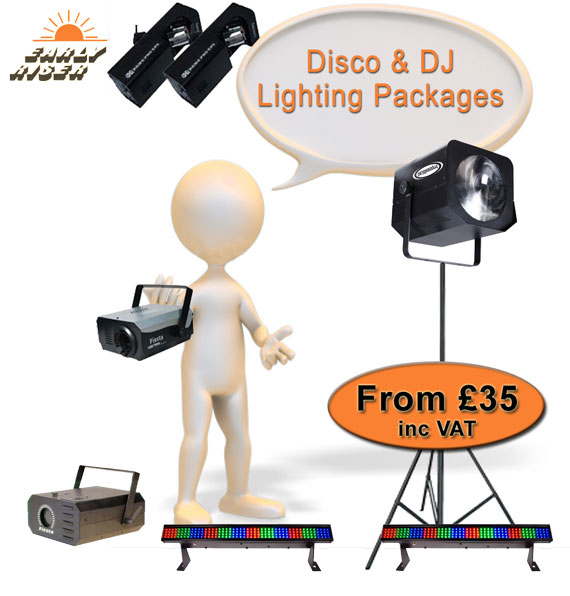 Disco Lighting Hire