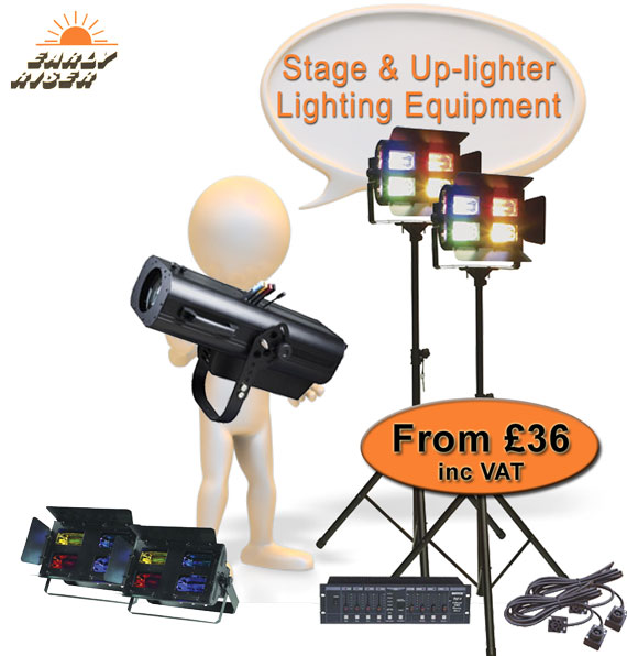 Theatrical, Band And Stage Lighting For Hire